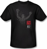 Muhammad Ali Arms Raised T-Shirt