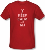 Muhammad Ali Keep Calm And Ali T-Shirt