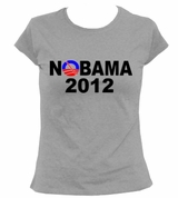 Nobama Obama 2012 Women's T-Shirt