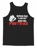 Nothing Says I Love You Quite Like Fisting Funny Men's Tank Top