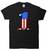 Number One USA Flag T-Shirt