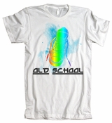 Old School Sneaker Shoe Vintage American Apparel T-Shirt