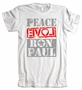 Peace Love Ron Paul American Apparel T-Shirt