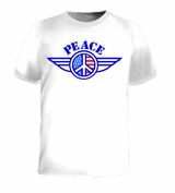 Peace USA American Flag United States Symbol T-Shirt