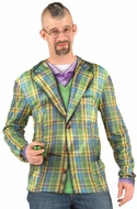 PhotoRealistic St. Patrick's Day Plaid Suit T-Shirt