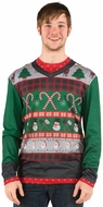 PhotoRealistic Ugly Christmas Sweater T-Shirt