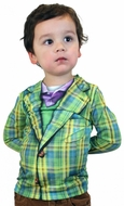 PhotoRealistic Youth Plaid Suit T-Shirt