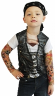 PhotoRealistic Youth Tattoo T-Shirt