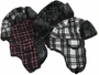 Plaid Patterned Fur Ear Cover Winter Hat