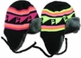 Premium Fur Lined Neon Patterned Ear Cover Winter Hat