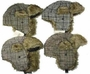 Premium Fur Lined Plaid Striped Ear Cover Winter Hat