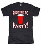 Proceed To Party American Apparel T-Shirt