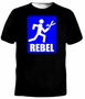 Rebel Running With Scissors T-Shirt