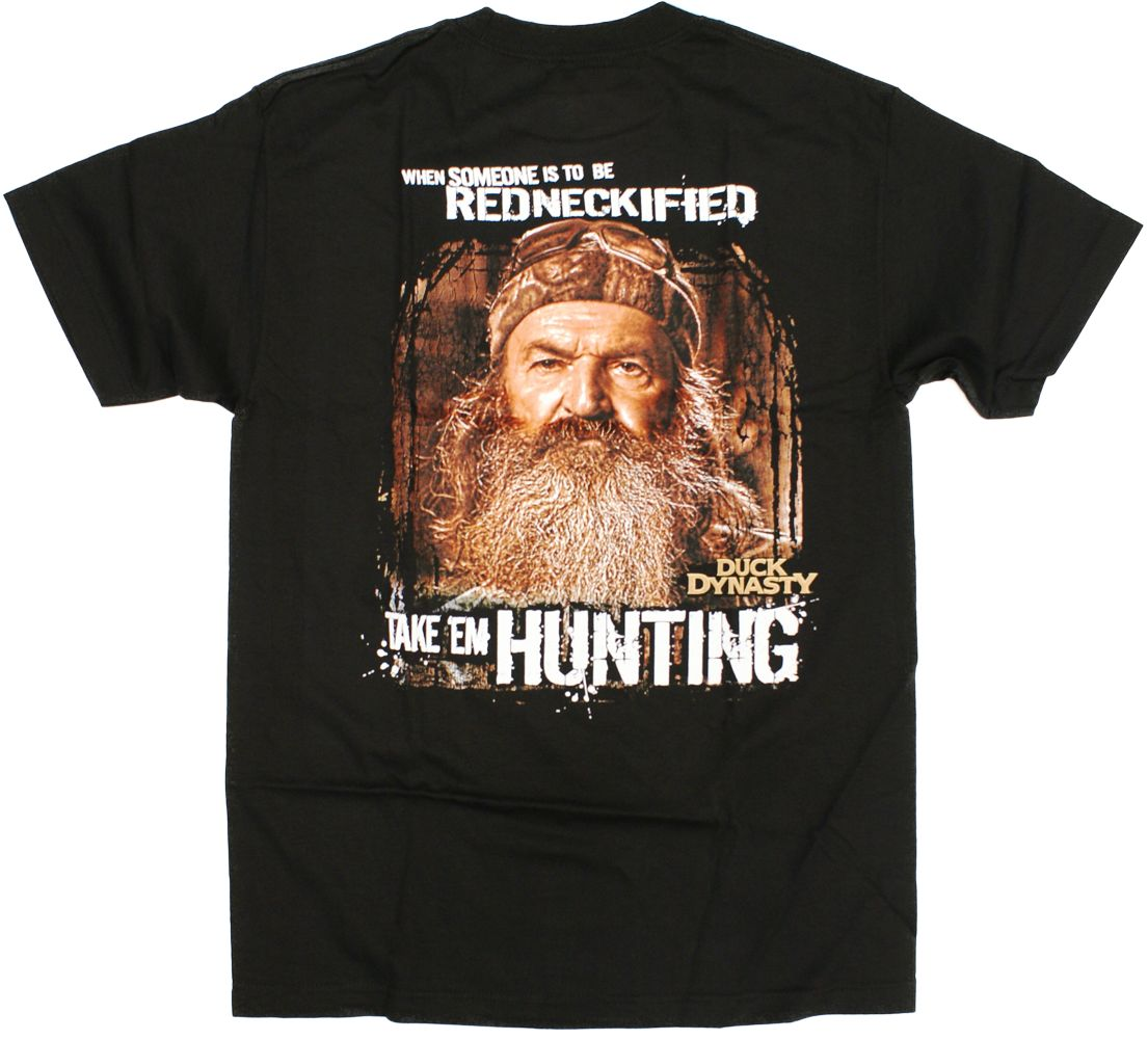 TeeShirtPalace Redneckified Take Them Hunting Duck Dynasty T-Shirt at Sears.com