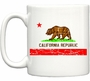 Retro Califormia Republic Flag Coffee Mug