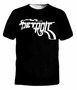 Retro Detroit Gun n Smoke T-Shirt