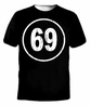 Retro Sixty Nine 69 Funny Sexy Porn Sex Adult T-shirt
