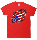 Ripped USA Flag T-Shirt