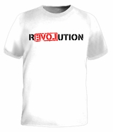 Ron Paul REVOLUTION War Libertarian 2012 Tee T-shirt