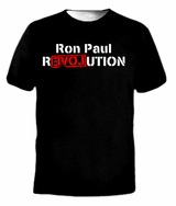 Ron Paul REVOLUTION War Libertarian President T-shirt