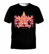 Saddle Score Slim's Redo Show Since 1889 Tee T-Shirt