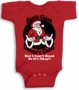 Santa Claus Doesn't Exist But I cant Read So its Ok Baby Infant Body Suit