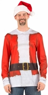 Santa Clause Suit Costume T-Shirt
