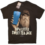 Sip A Little Sweet Tea Jack Duck Dynasty Uncle Si T-Shirt