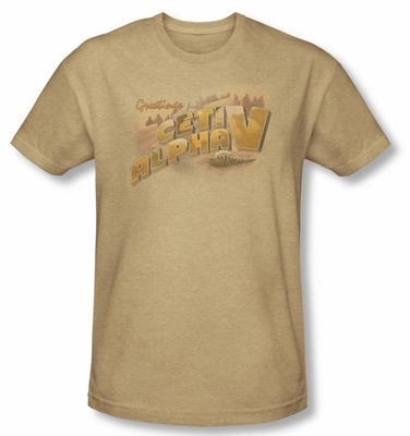 Star Trek CETI Alpha V Movie T-Shirt