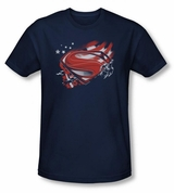 Superman Man of Steel Americas Hero T-Shirt