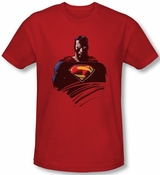 Superman Man of Steel Bust T-Shirt