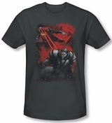 Superman Man of Steel Fire Light T-Shirt