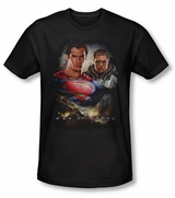 Superman Man of Steel Kal El and ZOD T-Shirt