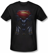 Superman Man of Steel Mos Costume T-Shirt