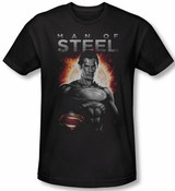 Superman Man of Steel Movie T-Shirt