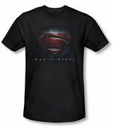 Superman Man of Steel Shield T-Shirt