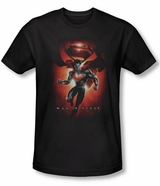 Superman Man of Steel Title T-Shirt