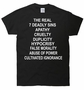 The REAL 7 Deadly Sins T-Shirt
