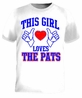 This Girl Loves The Pats T-Shirt