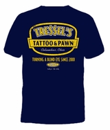 Tressel's Tattoo & Pawn T-Shirt