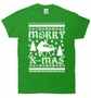Ugly Christmas Sweater XMas Reindeer Humping T-Shirt