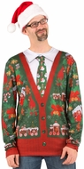 Ugly Christmas Cardigan Sweater Costume