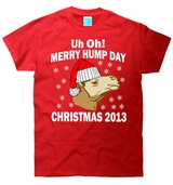 Uh Oh Merry Hump Day Christmas 2013 T-Shirt