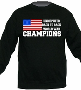 Undisputed Back to Back World War Champions Crewneck Sweater