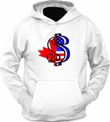 United States of American Canadian Money Hoodie