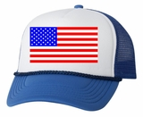 USA American Flag Trucker Hat