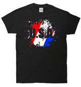 USA Red White & Blue Splatter T-Shirt