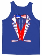 USA United States Tuxedo Men's Tank Top