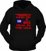 Vintage I'm Kind of a Big Deal In The USA United States Hoodie