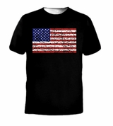 Vintage Old Glory Flag USA Tee T-Shirt
